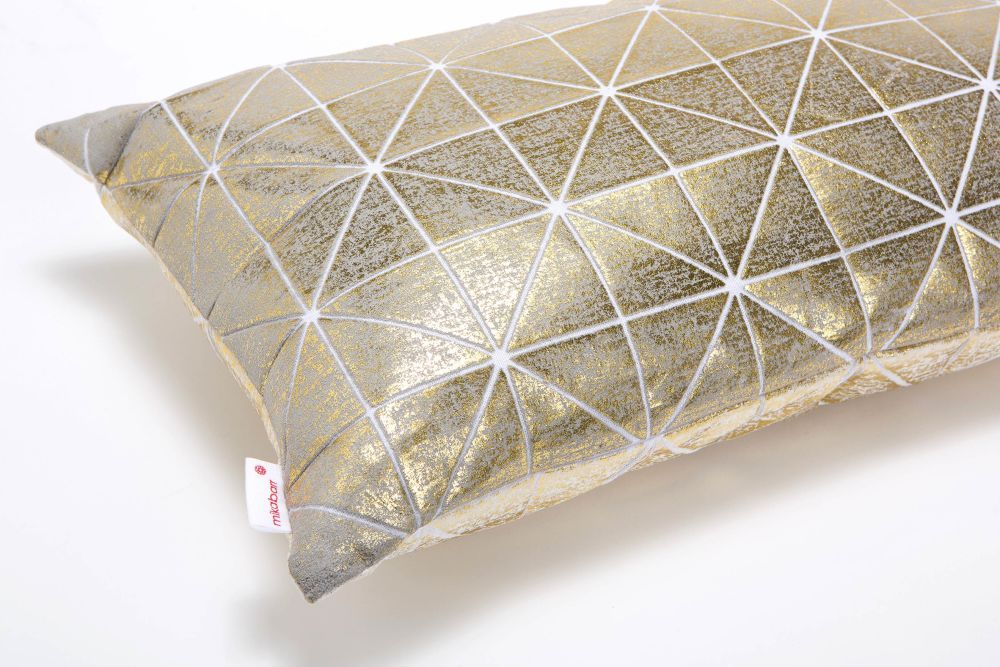 Bling Origami Rectangular Cushion Cover by Mikabarr