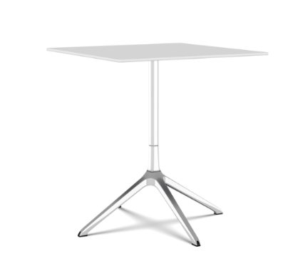 Elephant Square Table, Tip-up Top by Kristalia