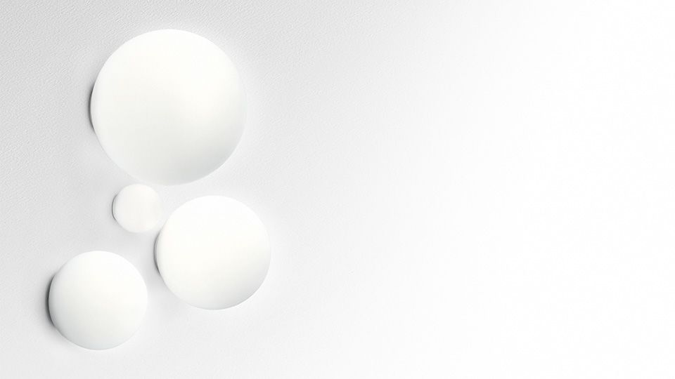 Dioscuri Wall/Ceiling Light by Artemide