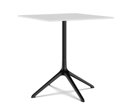 Elephant Square Dining Table, Fixed Top by Kristalia