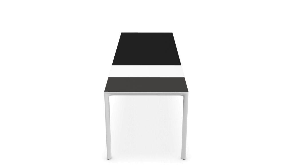 Maki Alucompact® / Pure-white Extensible - Depth 80 cm by Kristalia