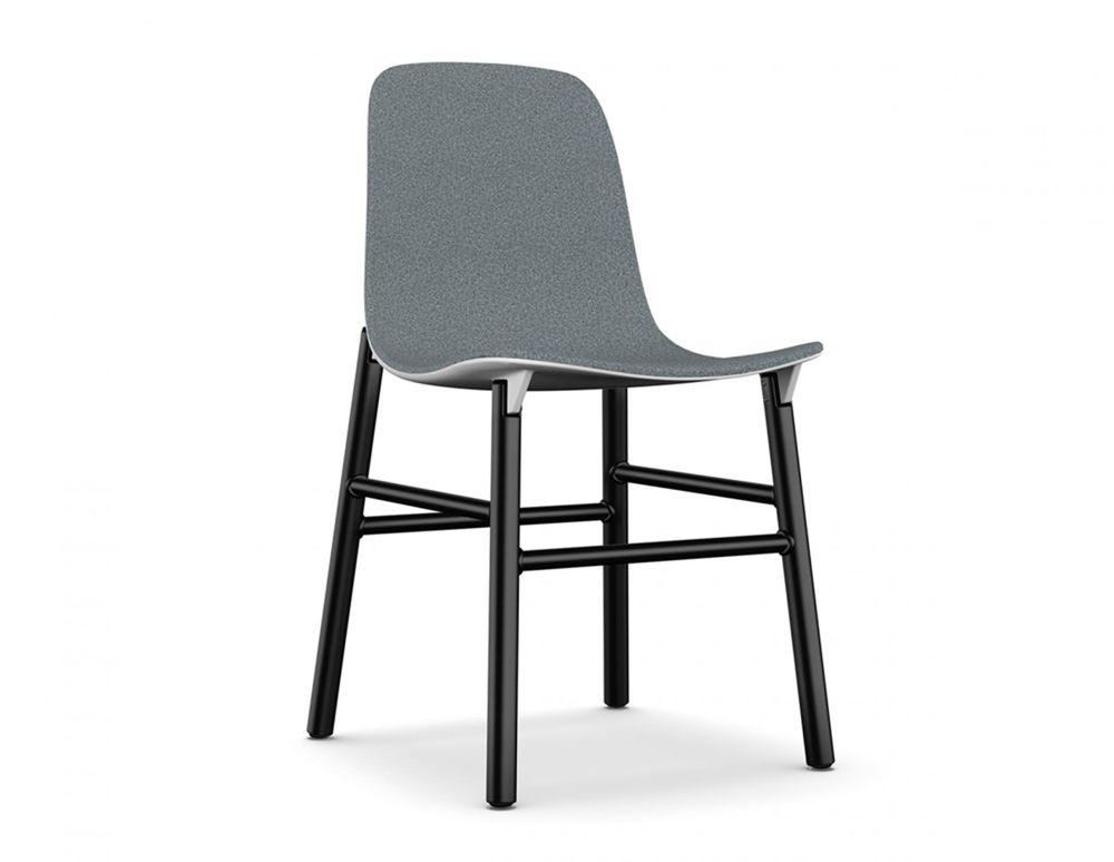 Sharky Alu - Aluminium base With Seat Upholstery by Kristalia