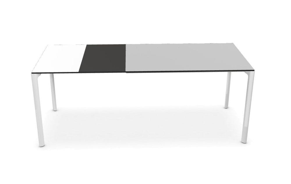 Maki Glass Extensible - Depth 80 by Kristalia