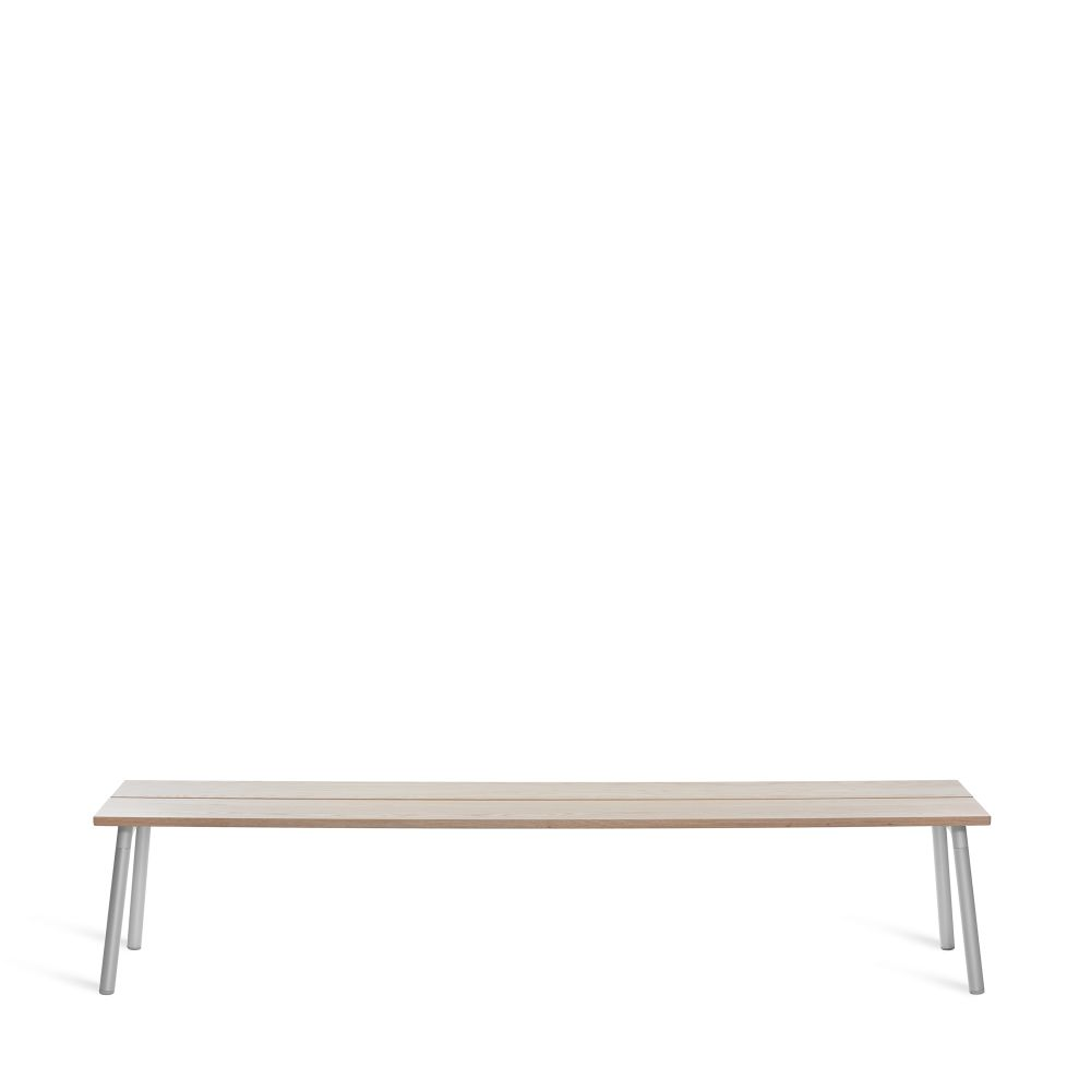 Run 4 Seater Bench by Emeco