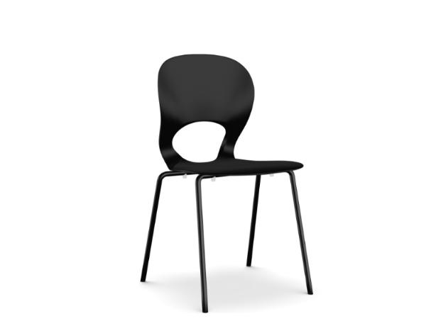 Pikaia Four Legs Stackable Chair by Kristalia
