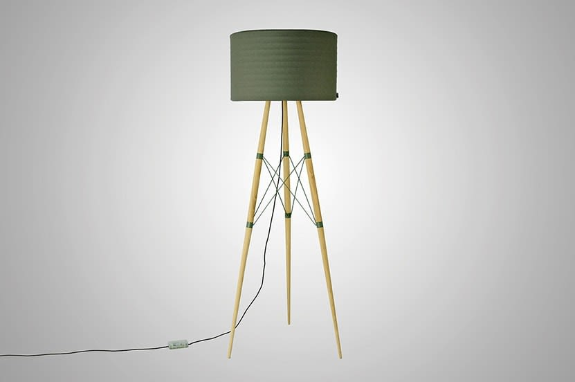 Wire Light Floor Lamp by B.LUX