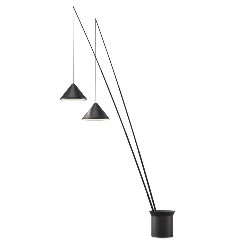 North 5600 Floor Lamp by Vibia