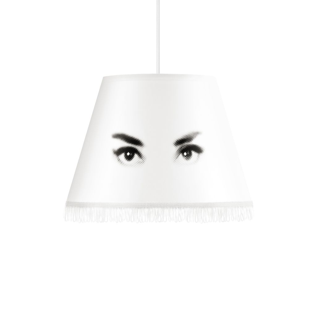 Eye Doll Pendant Lampshade  by Mineheart