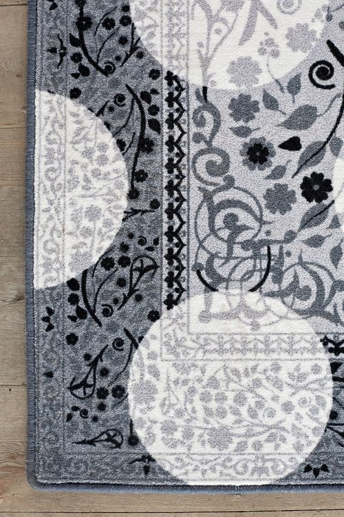 Monochrome Magic Rug by Mineheart