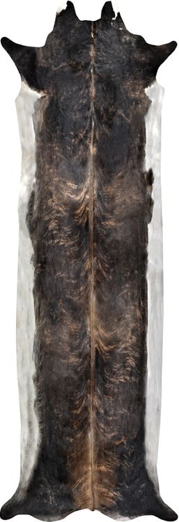 Super Long Stretched Cowhide Rug  by Mineheart