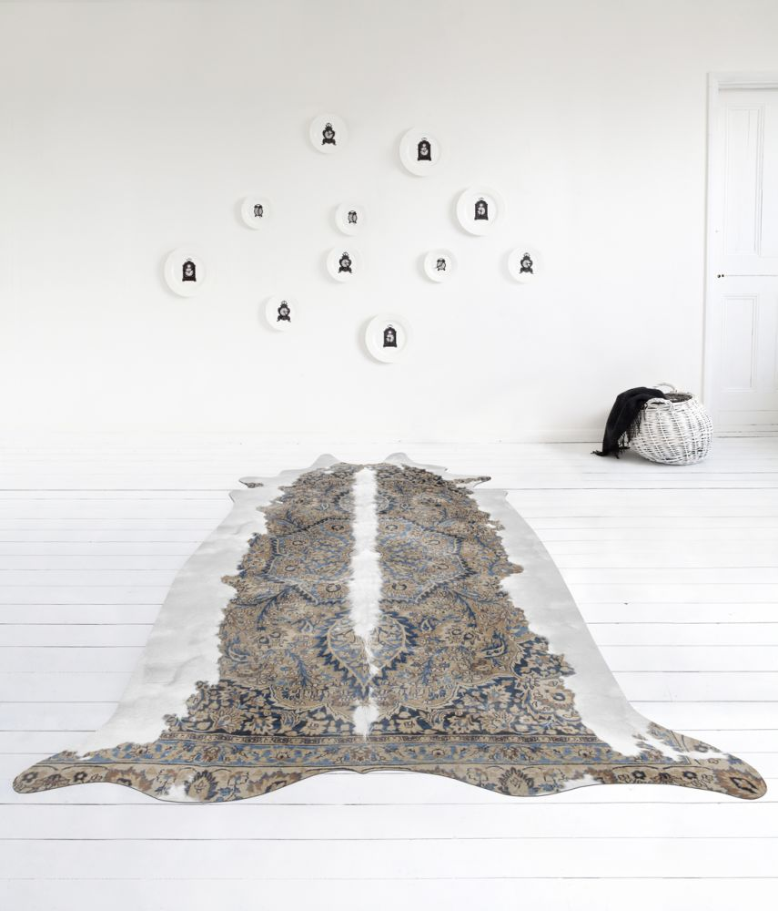 Super Long Persian Cowhide Rug  by Mineheart