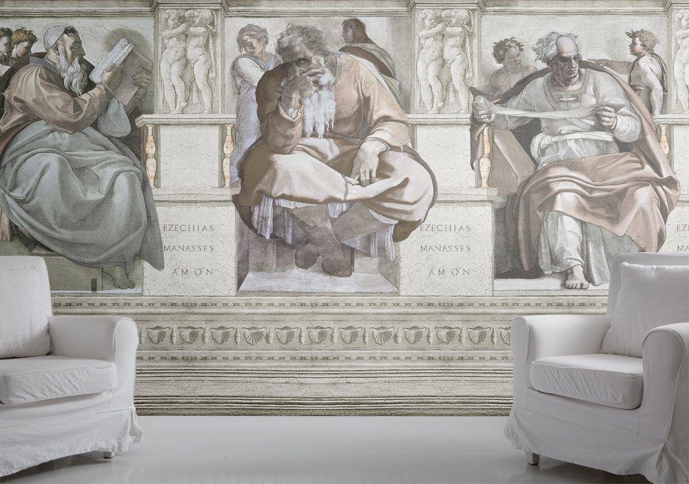 Fresco Wallpaper Mural by Mineheart