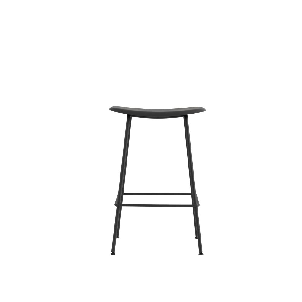 Fiber Bar Stool Tube Base by Muuto