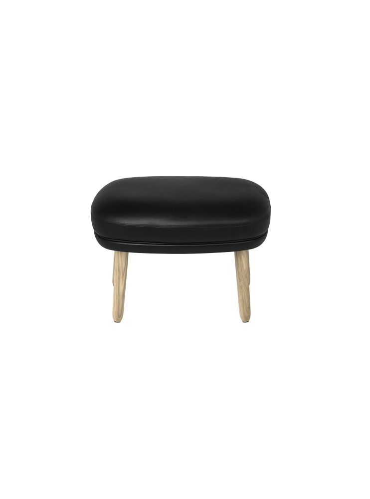 Ro Easy Foot Stool With Wooden Legs by Republic of Fritz Hansen