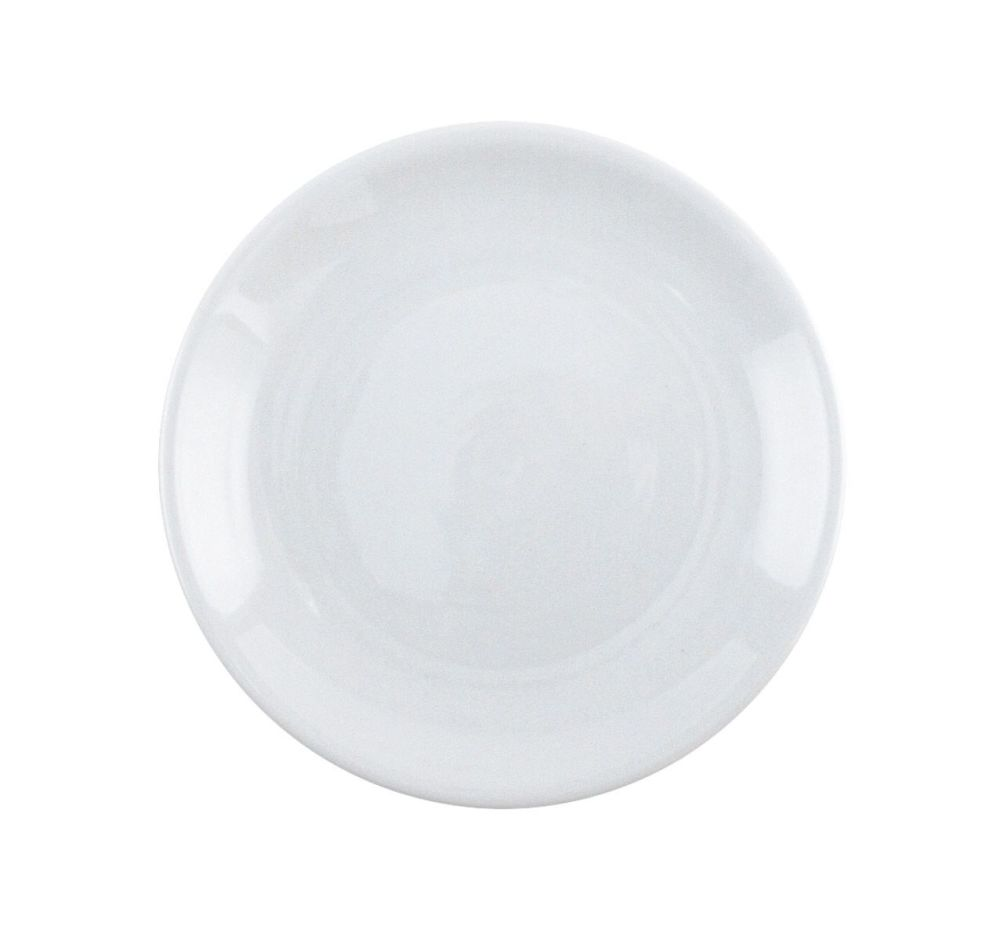 The White Snow - Round Serving Flat Plate by Driade