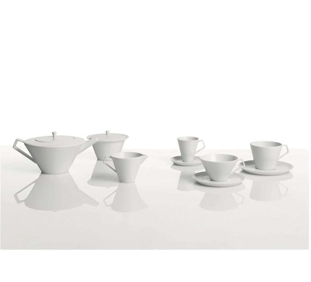 Anatolia - Tea Cup Saucer Set of 6 by Driade