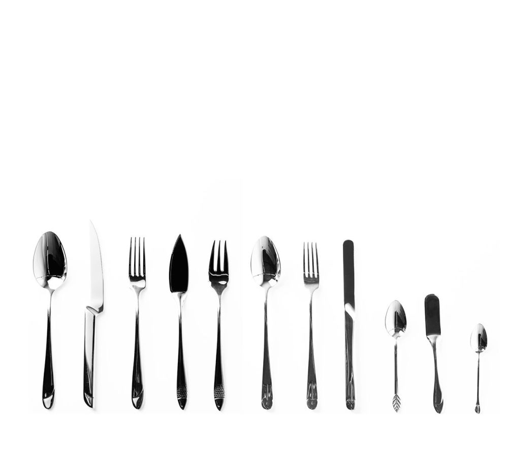 Victoria - Table Fork Set of 6 by Driade