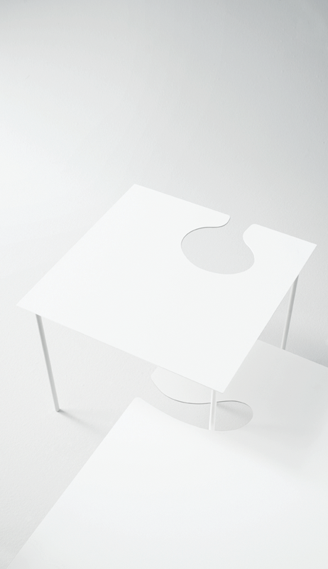 Softer Than Steel Side Table by Desalto