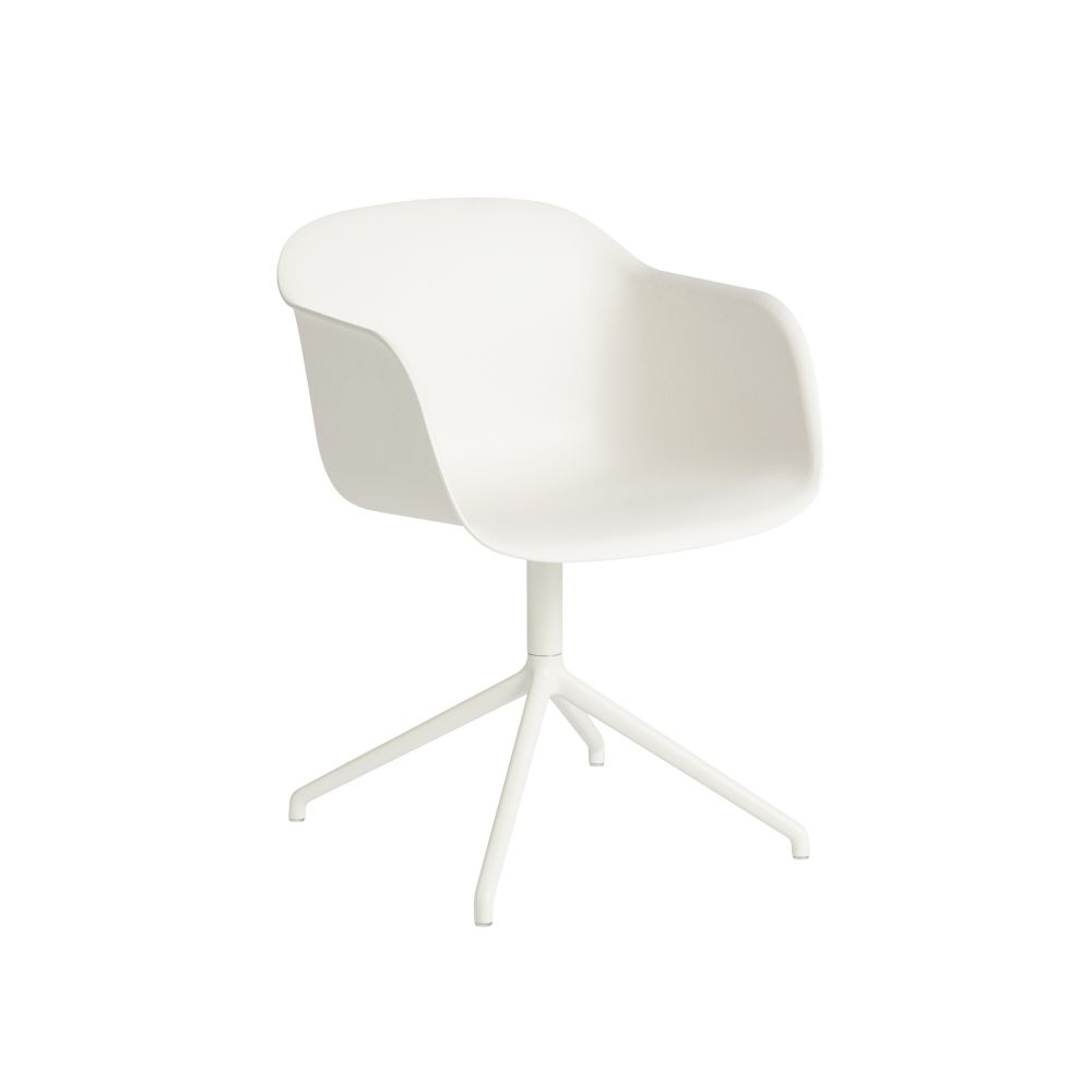 Fiber Armchair Swivel Base Without Return by Muuto