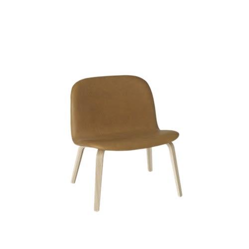 Visu Lounge Chair - Textile Shell by Muuto