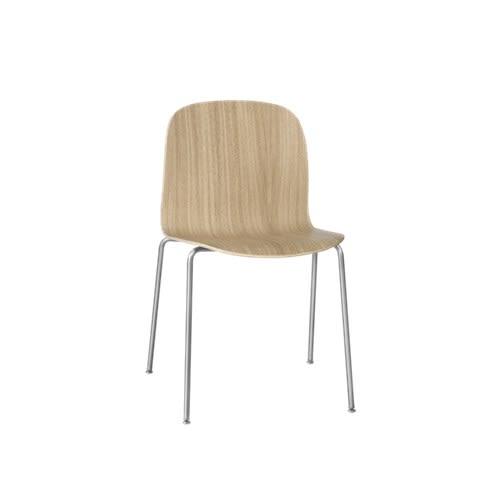 Visu Chair Tube Base by Muuto