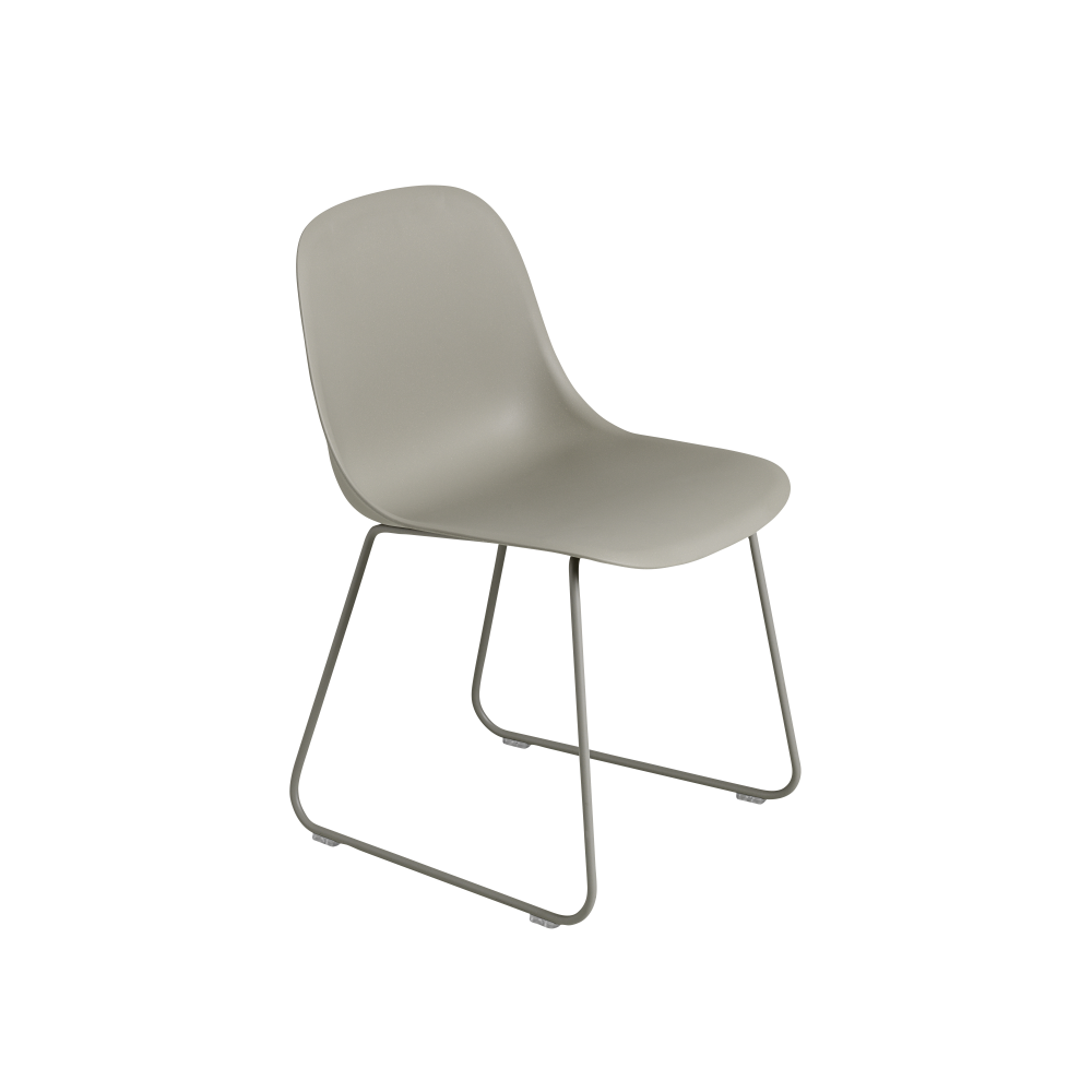 Fiber Side Chair Sled Base by Muuto