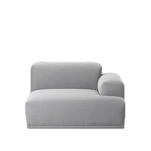 Connect Modular Sofa - Right Armrest by Muuto
