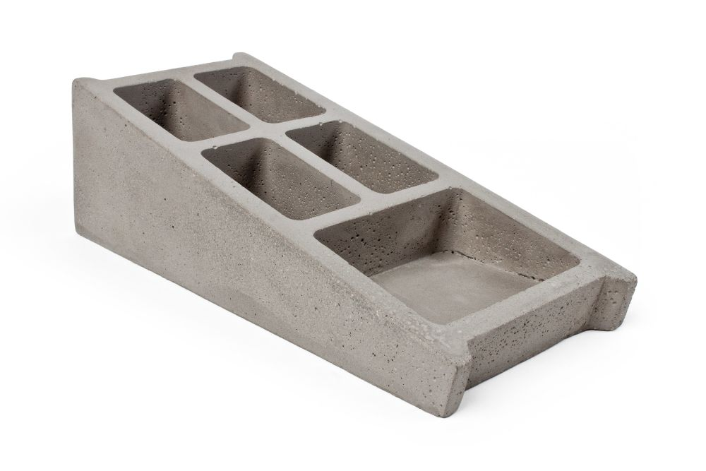 Blockwork Desk Organiser by Lyon Beton