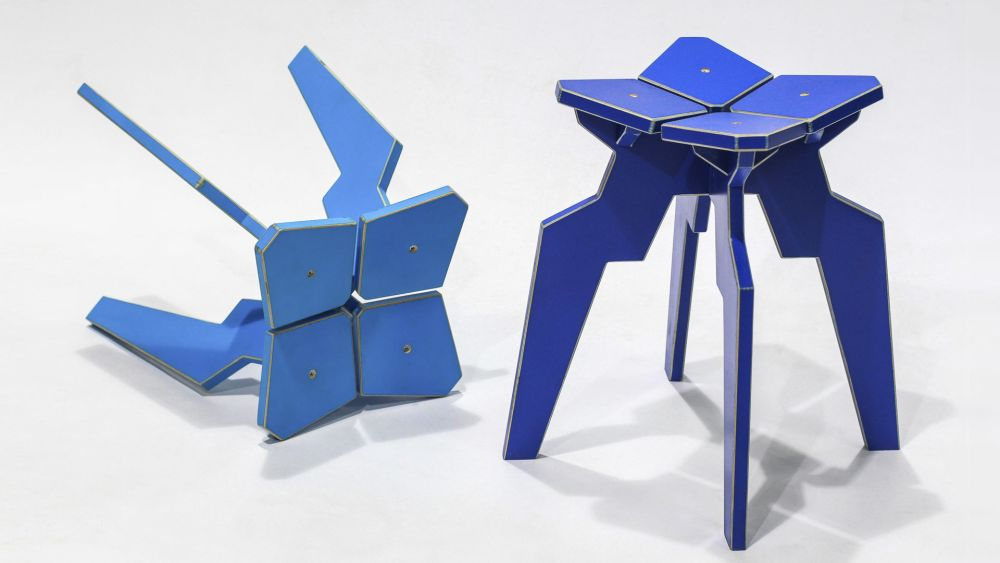 Splice Stool by Liqui Contracts
