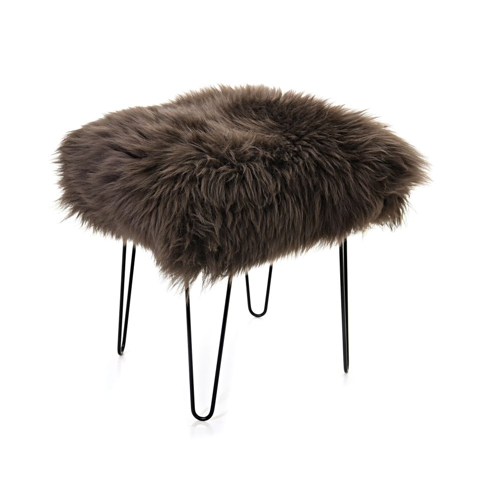 Sioned - Sheepskin Dressing Table Stool by Baa Stool