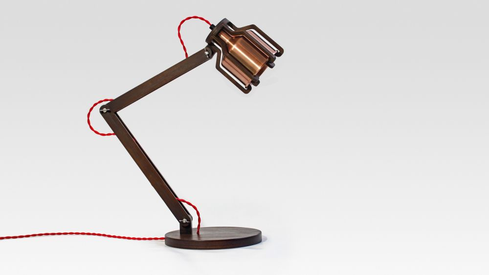 Cell Desk Lamp by Liqui Contracts