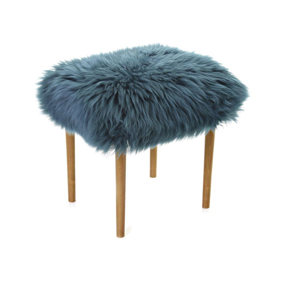 Swyn - Sheepskin Dressing Table Stool  by Baa Stool