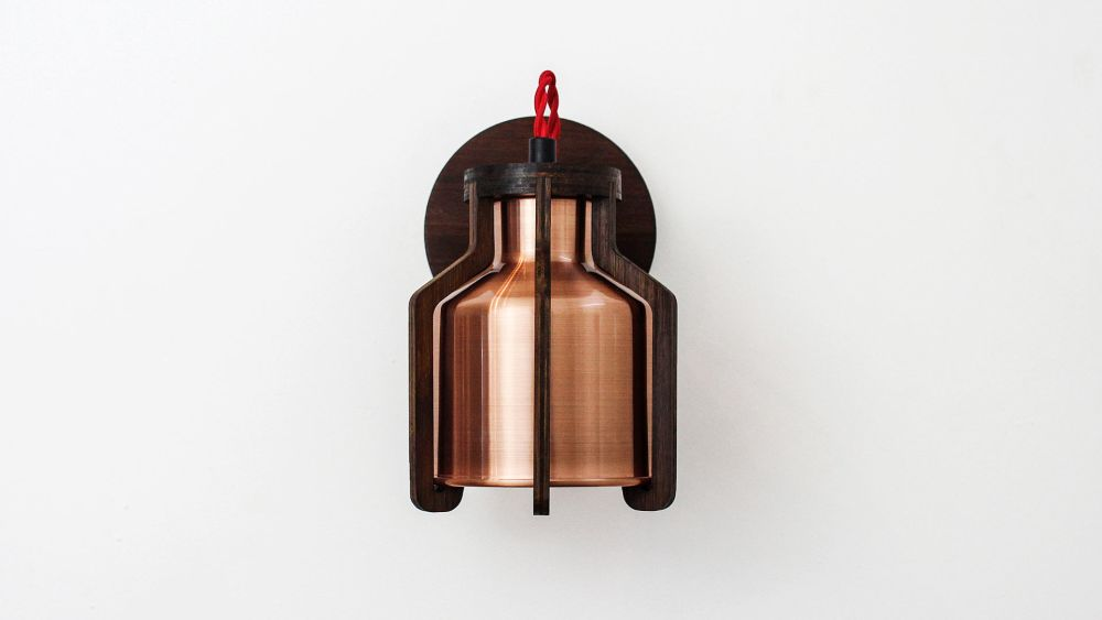 Cell Wall Lamp by Liqui Contracts