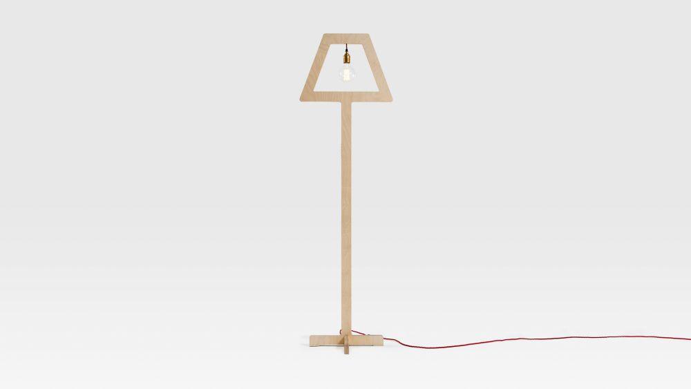 Symbol Floor Lamp by Liqui Contracts
