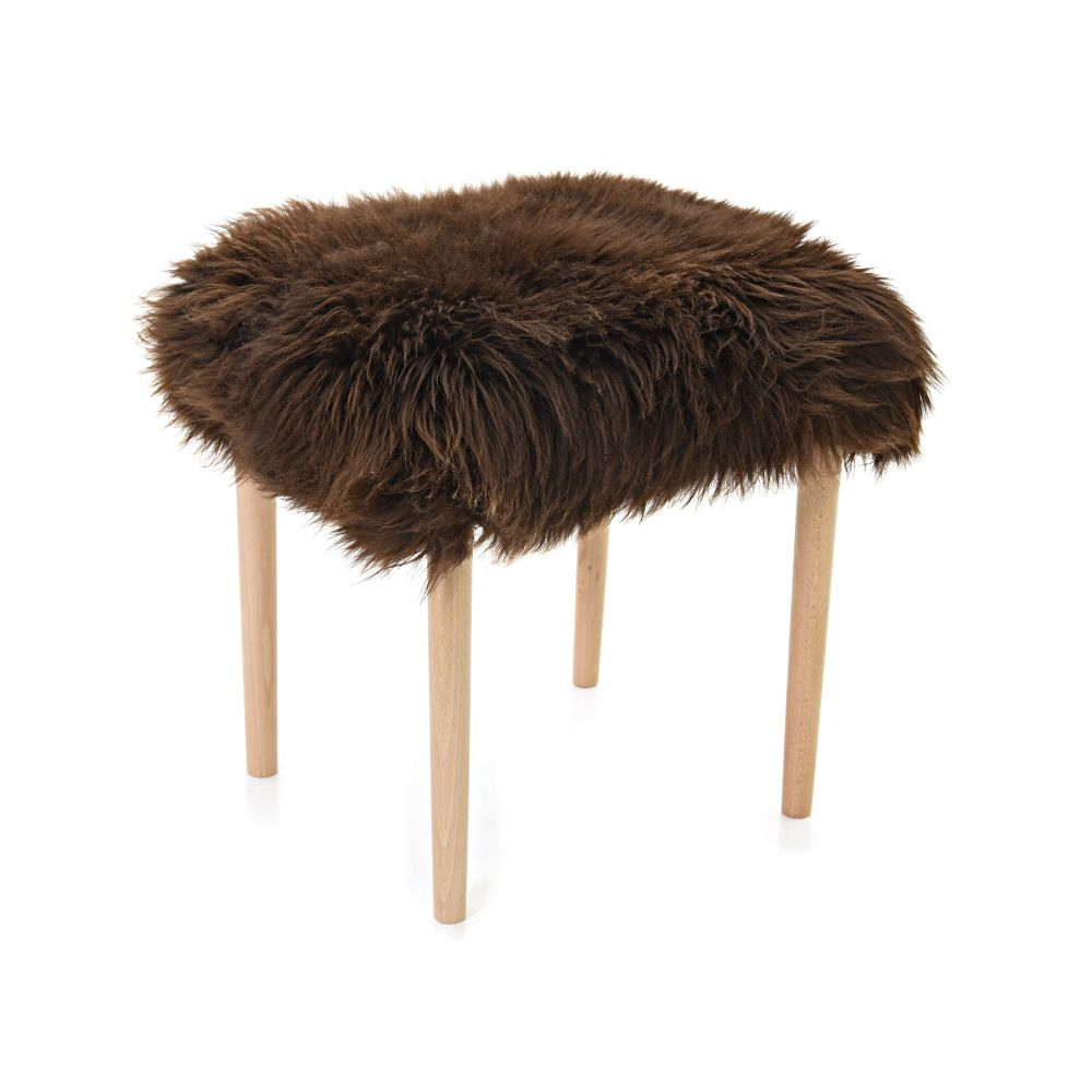 Seren - Sheepskin Dressing Table Stool  by Baa Stool