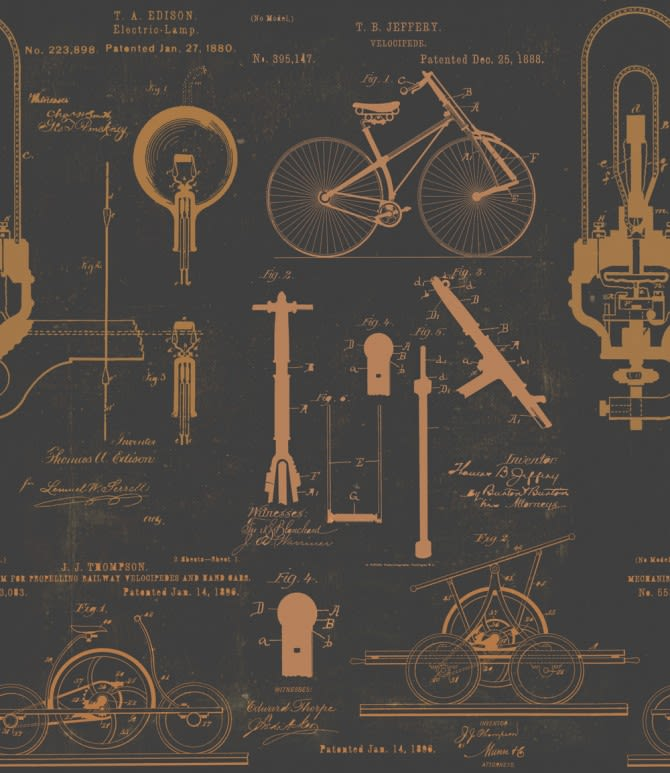 Patents Wallpaper by Mind The Gap