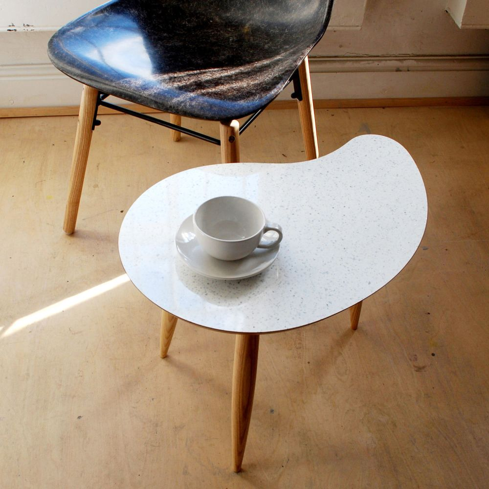 Comma Side Table by Judy Clark