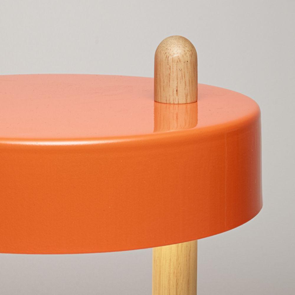 Stick Lamp - Orange by James Stickley