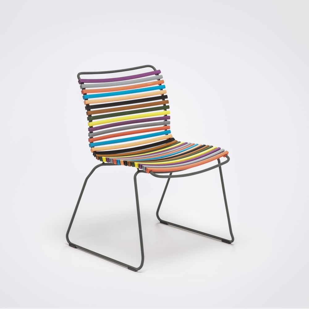 Click Dining Chair Without Armrests by HOUE