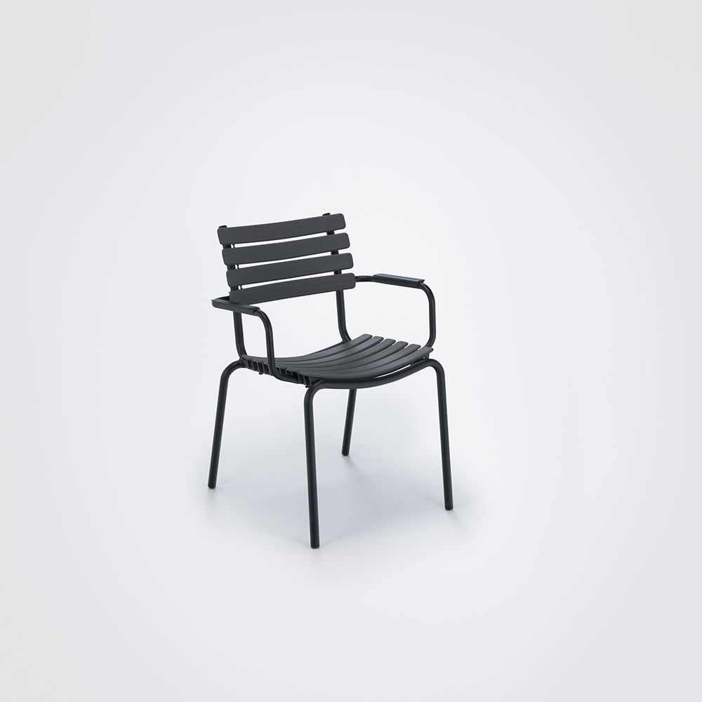 Clips Dining Chair With Armrests by HOUE