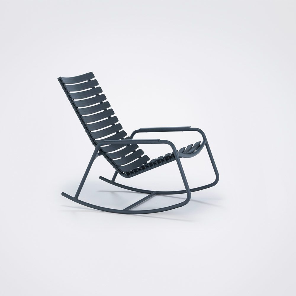 Clips Rocking Chair - Mono Colour by HOUE