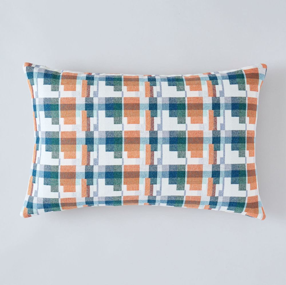 Blocks Cushion by Flock
