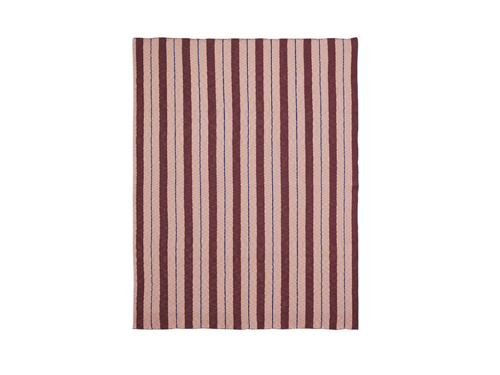 Pinstripe Blanket - Set of 2 by ferm LIVING