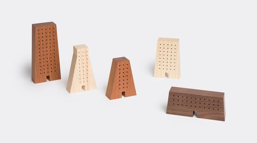 Small architectures wooden by Mad Lab