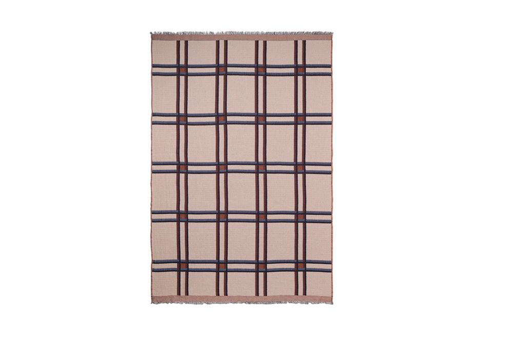 Checked Wool Blend Blanket - Set of 2 by ferm LIVING
