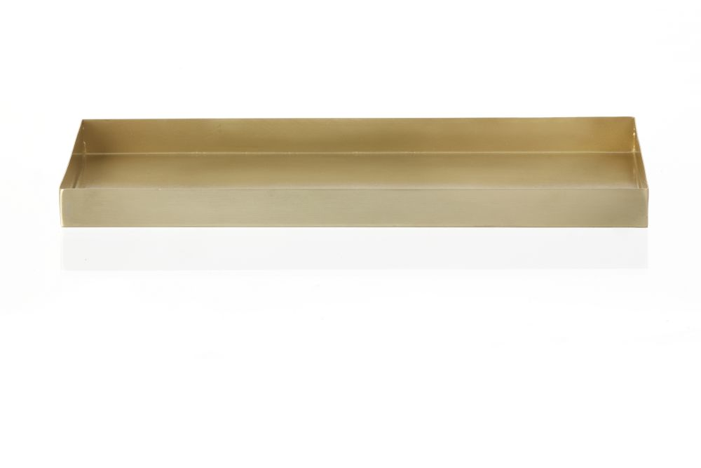 Brass Office Tray - Set of 4 by ferm LIVING