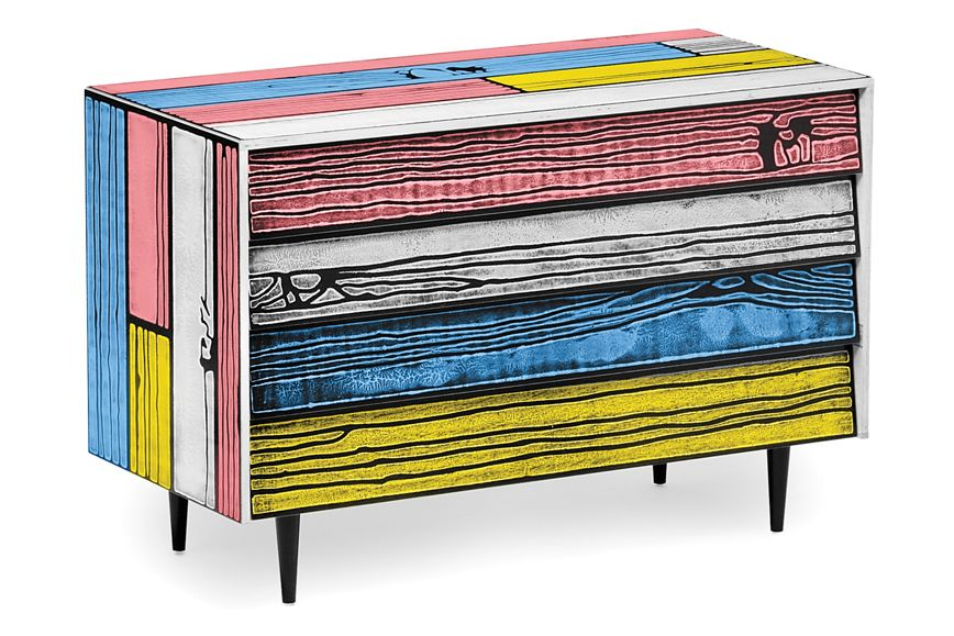 Wrongwoods Chest of drawers - L109 by Established & Sons