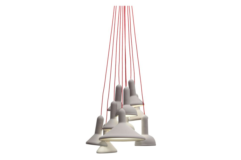 Torch Pendant Light, Bunch - S10 by Established & Sons