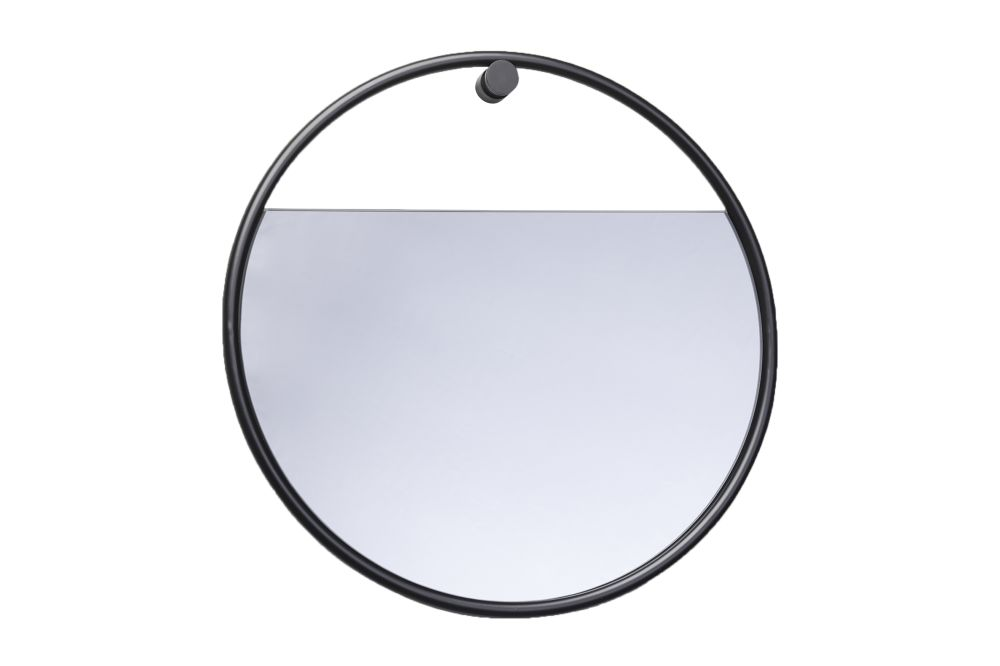 Peek Circular Wall Mirror by Northern