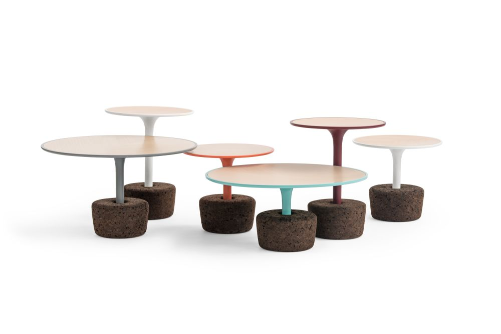Flora Wide Tall Coffee Table  by Dam